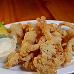 Fried Clams (With bellies) Fresh Ipswich clams shucked and lightly breaded. Nothing better anywh