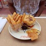 Mc Belin et frite de panisse