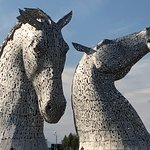 Photo of The Kelpies & The Helix