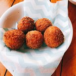 Seafood fried balls