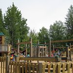 A great park with a family friendly boardwalk along the Kenai River.