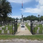Navy still maintains this plot for those killed in the USS Maine explosion in Havana Harbor