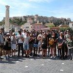 Monastiraki square group shot
