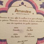 Patisserie Amandine Marrakech resmi
