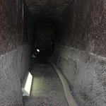 passage way to the burial chamber
