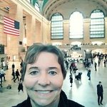 Me inside Grand Central Station