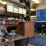 Restaurant interior and main cash