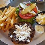 Demetre's burger
