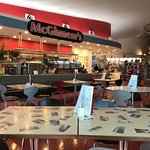 McGinness Restaurant just after opening on a Saturday morning