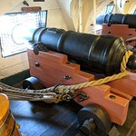USS Constitution Guns