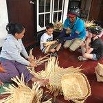basket weaving for ceremony