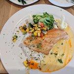 Fish and vegies
