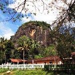 Visit Mulkirigala Raja maha Viharaya)Temple. get the experience of the Sri lankan Culture.