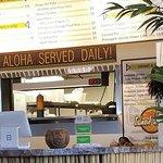 Aloha served daily.