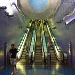 Foto di Toledo (Stazione della Metropolitana dell'Arte)