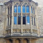 The New Library at Balliol College. It was formerly the Old Hall built in the 15th century.