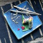 Rainbow rolls - yummy!
