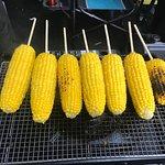 Fresh corn. Delicious