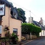 The front of Dragon Inn Crickhowell.