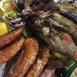 Seafood sharing platter