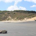 Visão da Praia próxima a subida pra Pedra Furada.