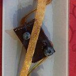 Gâteau chocolat et aux myrtilles