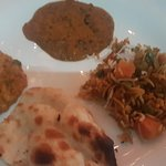 Then they served Main course- This includes vegetable korma , daal makhani , vegetable biryani a