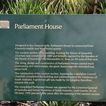 About the Parliament House