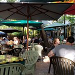 A cool outdoor dining restaurant