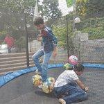 Games for children near lake