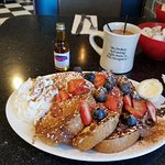The Special of the Day French Toast & NH's Best Coffee