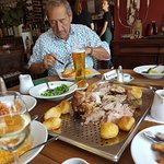 Had  wonderful lunch here today a whole leg of lamb  served up for 4 people thankyou for a truly