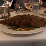 """My Dinner with André"" -- the Whole Crispy Fried Redfish at Commander's Palace"