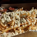 Gorgonzola Fries (bacon on the side)