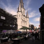 St Louis Cathedral New Orleans - From Jackson Sq
