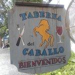 Outside Taberna del Caballo.