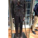 a suit of Nikola Tesly