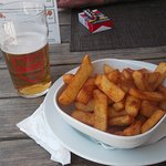 salted chilli chips