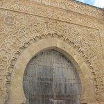 Intricate gate, Kasbah des Oudaias, Rabat, Morocco