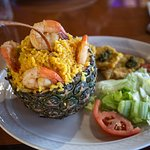 Shrimp Pineapple Rice... OMG....