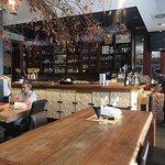 Inferno ristorante vista sul bar