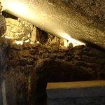 o interior da gruta