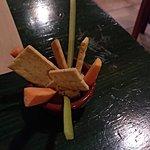Hummus as starter