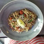 King Prawn Chorizo Linguine