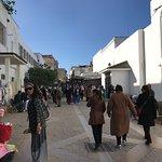 Entering the Jewish Mellah, Rabat, Morocco