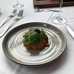 Arctic char tartar melts in your mouth. So delicious!