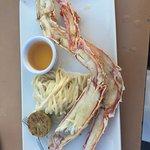 Crab legs (1/2 lbs).
