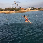 Rope swing great for Kids!