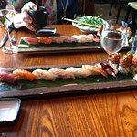 Standard sushi plate
