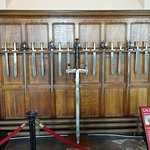 Many medieval weapons can be looked at throughout